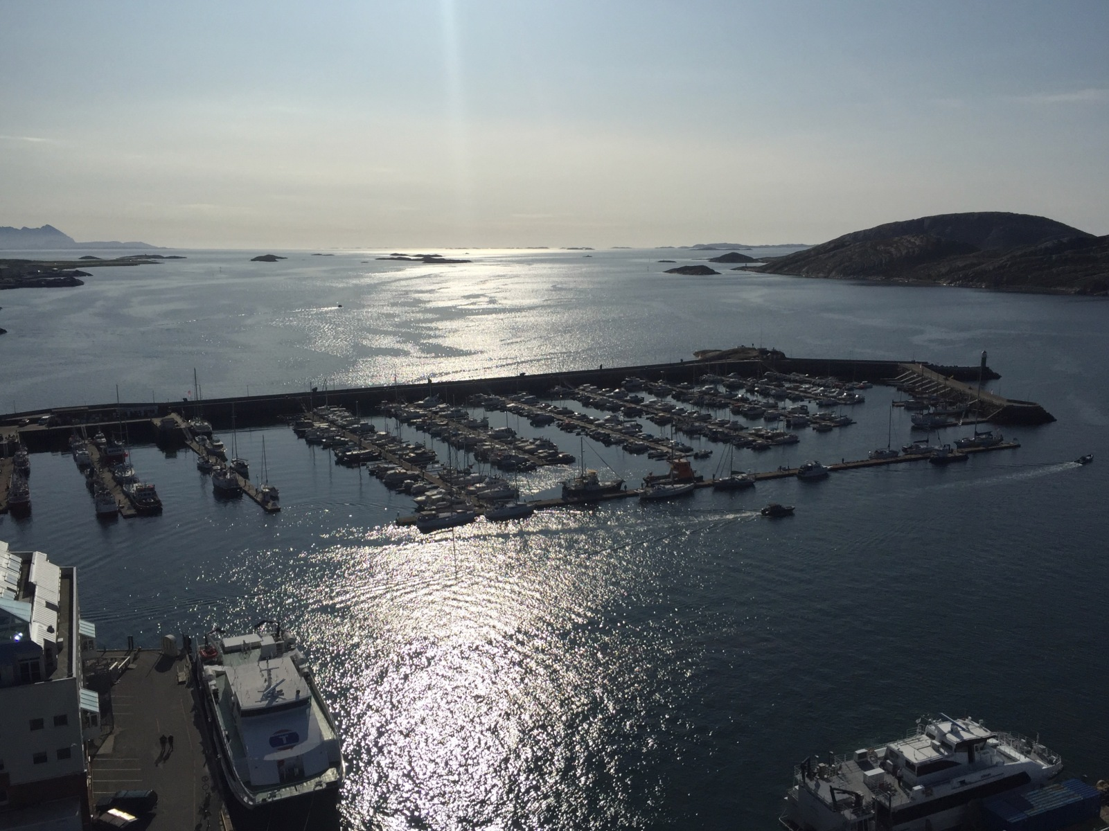Bodø in Norwegen