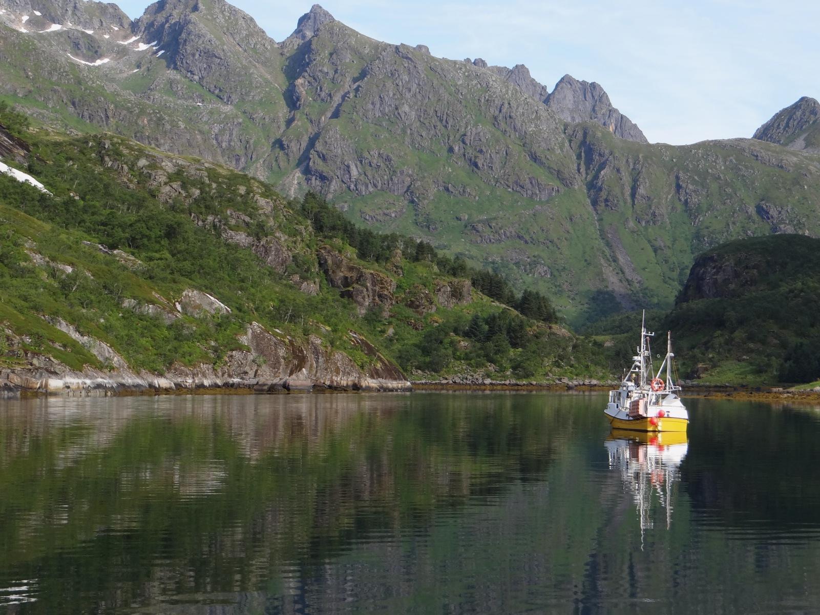 Ankern Grunndfjorden