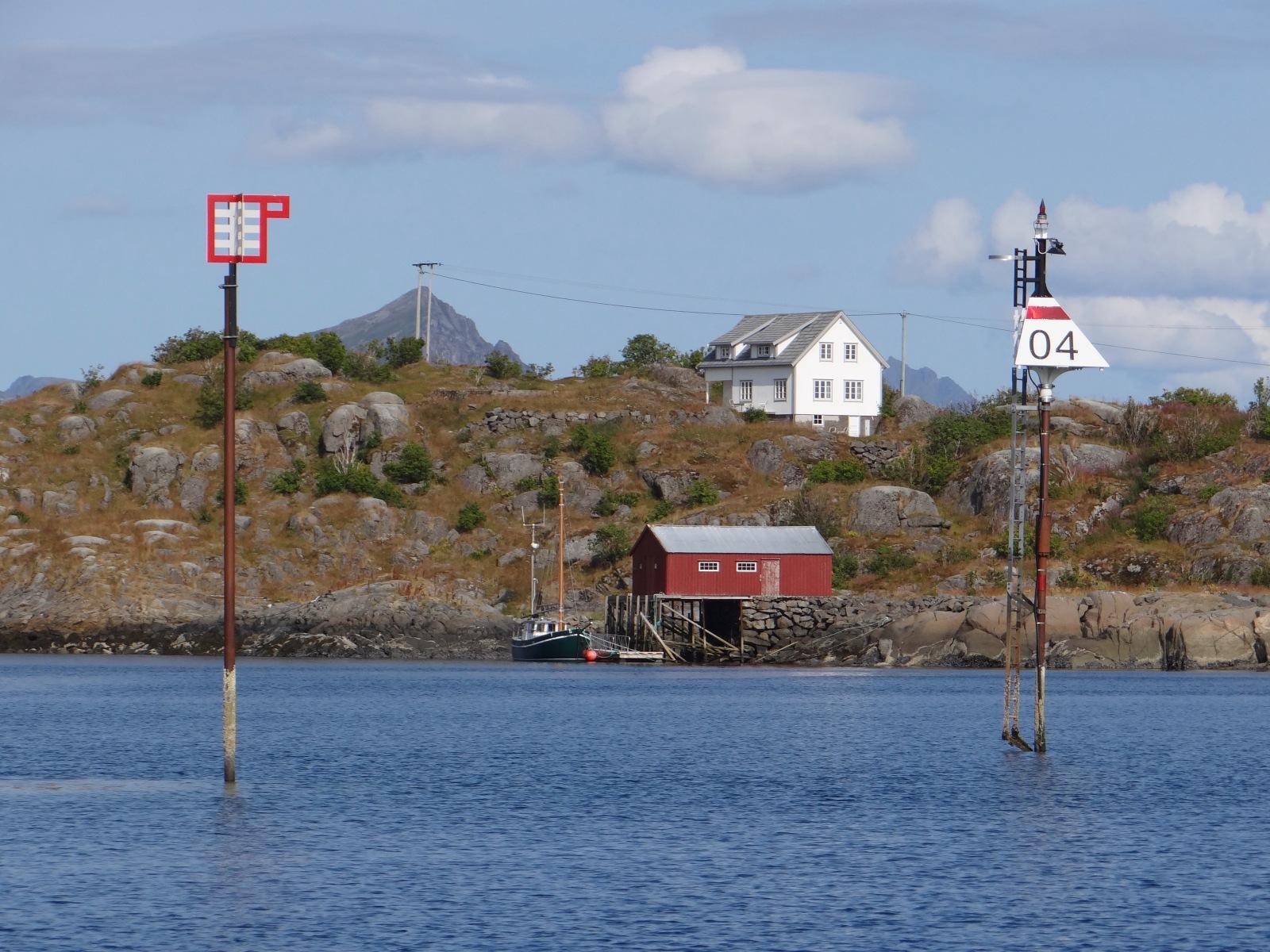 Norwegens Fahrwassertonnen