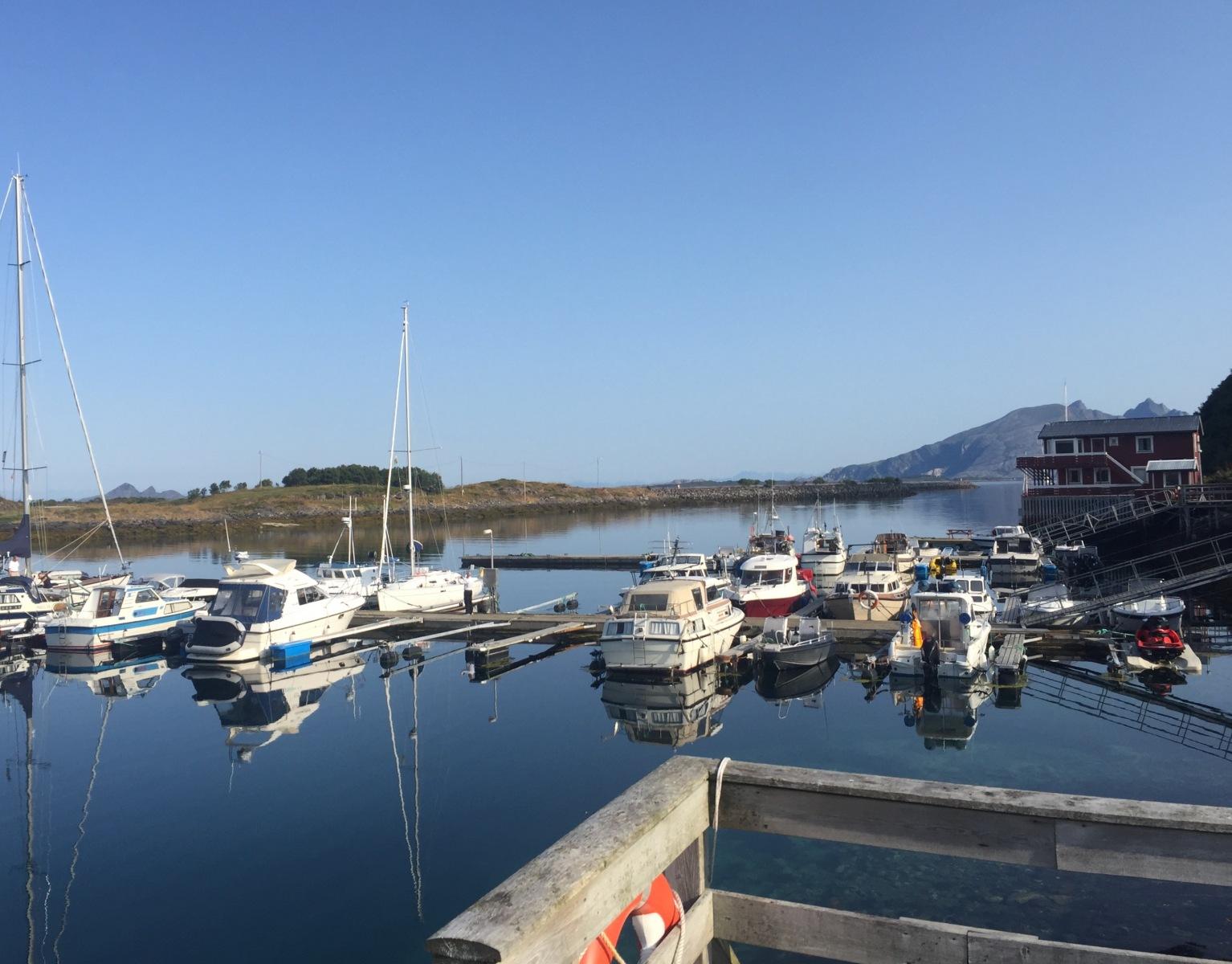 Hafen Helnessund